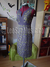 Stunning BODEN Notch Neck Shift Dress UK Size 8 R *NEW* HEATHER TERRAZZO 8R RARE