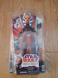 "New Star Wars Forces of Destiny Ashoka Tano 11""-12"" Action Figure new & sealed"