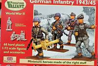 German Infantry 1943/1945 68 figurini - Valiant Miniatures Kits 1:72