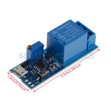 5pcs 5 30v Micro Usb Power Trigger Delay Relay Timer Control Switch Module New