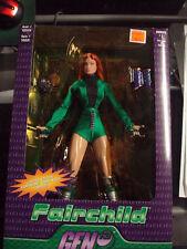 Fairchild  GEN 13 Action Figure W/chromium comic