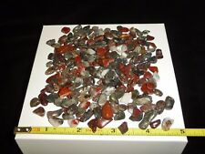 DINO: Tiny STARRY NIGHT- RED JASPER with PYRITE Polished Stones 95 gr.