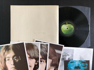 THE BEATLES PCS 7067 ( White Album ) 2LP UK 1968 EX/EX/EX/EX+ TOP VINYL complete