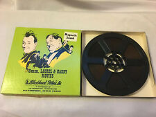 "Super 8 B&W Sound - Laurel & Hardy ""THE LIVE GHOST"" - Full 400' Reel O.B. (1934)"