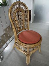 Stuhlkissen rund 40 Ø cm x 4 cm Sitzkissen terra , 50% Baumwolle 50% Polyester