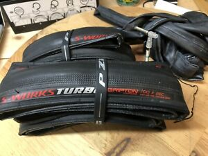 Pair - Specialized Sworks Turbo Gripton 700 x 26mm  - new take offs with tubes