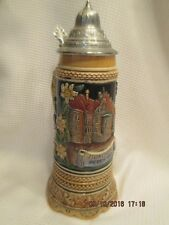 Hofbrauhaus Munich LE Colorful Relief MUSIC Beer Stein 1/2L Munchen West Germany