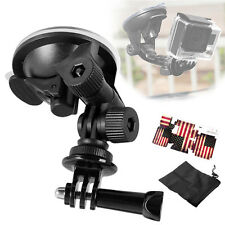 Dazzne Suction Cup Mount +Tripod Adapter for GoPro HD Hero 4,Session, 3+, 3, 2,1