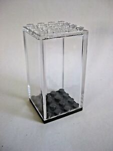 Display Case for Lego Minifigures -4x4 size- NEW! Clear, Dust Free!