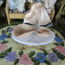 Dollhouse Artisan Woven Basket Miniature Artist Made Handmade Rustic Primitive