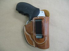 Ruger SP101 Revolver Leather IWB In The Waistband Concealed Carry Holster TAN RH