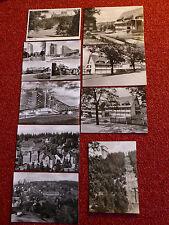 DDR 9 Ansichtskarten Postkarten schwarz weiß Oberhof Coburg Thüringer Wald