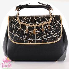 Japanese Gothic Lolita Vintage Harajuku Sweet Galaxy Star Handbag Shoulder Bags#