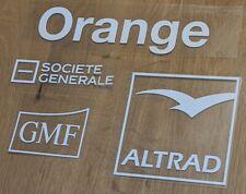 Patch sponsor Maillot FFR porté Équipe de France entraînement training Rugby
