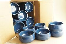 New Lot of 37 Aladdin Temp-Rite Alb230 8oz Thermal Insulated Bowls Blue ShpsFree