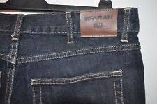 Vintage Farah blue jeans W 36 L 34 zip fly casual mod
