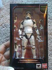 Star wars 1st order stormtrooper sh figuarts new and rare bandai