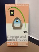 Cricut Cartridge - George and Basic Shapes- Gently Used - Complete!