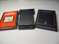 Atari 2600 Games - Freeway, Frogs and Flies, Hangman