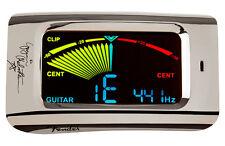 Fender Yngwie Malmsteen FCT15BC con pinza Guitarra & Bajo Sintonizador.