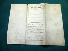 #962,Deed Geauga County Oh,1875,Reuwee & Snow