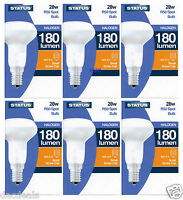 6x 12x  R50 28W SES E14 HALOGEN SPOT REFLECTOR Energy Saving Dimmable  FREE POST