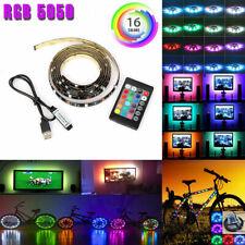USB Powered RGB 5050 LED Strip Lighting for TV Computer Background Light 2m/6ft