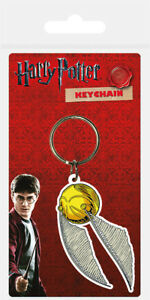 Harry Potter (Snitch) Rubber Keychain / Keyring *OFFICIAL PRODUCT*