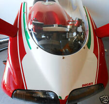 Ducati corse racing 748 916 996 998 números de pizarra tricolore numberboard Front