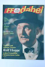 DDR Fernsehzeitschrift FF Dabei RARITÄT 22/1988 TOP !!