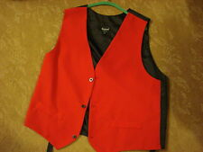 MENS  Victorian Sherlock Holmes piano player RED VEST 2 XL Dickens Old West