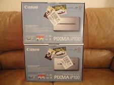 New Canon PIXMA IP100 Digital Photo Inkjet Printer