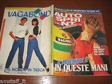 AUTOSPRINT 1989/19=GP F.1 MONACO=AYRTON SENNA=REYNARD 89D=TARGA FLORIO RALLY=
