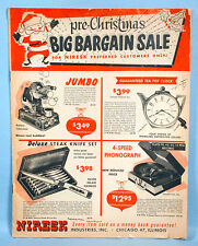 1950s Christmas Sales Catalog Toys Dolls Jokes Novelties Niresk Ind.  Chicago IL