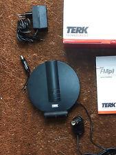 Antenne DAB  FM Amplifiée réglable TERK avec tous les raccords et transfo 220V