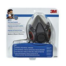 3M Tekk Protection Half Face Spray Paint Respirator