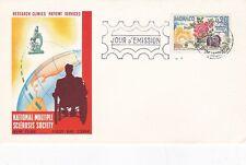 Mónaco 1962 Sociedad Nacional de múltiples sclrosis Nueva York FDC en muy buena condición
