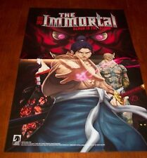 THE IMMORTAL Demon In The Blood Dark Horse Comics PROMO POSTER