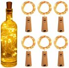 Copper Bottle String Lights Light 15 LED Warm Cool White Fairy Wine Cork Shaped  <br/> UP TO 50% OFF, BATTERIES INCLUDED, FREE POSTAGE