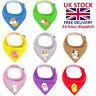 8 Pack Baby Dribble Bibs Bandana Bibs for Girl/Boy 100% COTTON UK Stock