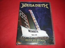 Megadeth: Rust in Peace - Live (DVD, 2010)