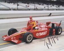 2000 Juan Pablo Montoya signed Target Oldsmobile Indy 500 Qualifying 8x10 Photo