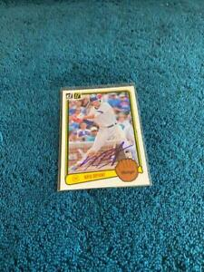 Kris Bryant Autographed Chicago Cubs Baseball Card