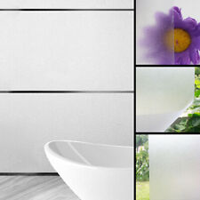 1 Roll Home Bathroom Privacy Frosted Window Film Self-Adhesive Glass Sticker