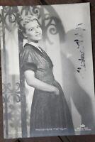 34717 Foto Ross Editore Autografo Ak Heidemarie Hatheyer Del 1939 Film