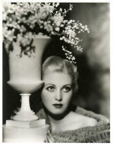 ROCHELLE HUDSON '30s GORGEOUS OVERSIZE ORIGINAL VINTAGE FOX PHOTOGRAPH OTTO DYAR