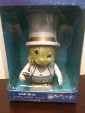 """Silver Jiminy Cricket 3"""" Vinylmation Special Edition Make-a-Wish New In Box"""