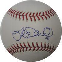 Joe Saunders Autographed Major League Baseball Seatttle Mariners Angels w/ COA
