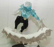 Custom Iceman Statue 1/4 Scale - X-men - Translucent statue and base