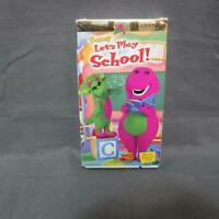 VHS Barney Let's Play Classic Collection